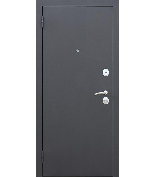 Дверь входная Ferroni Garda левая черный муар 860х2050 мм