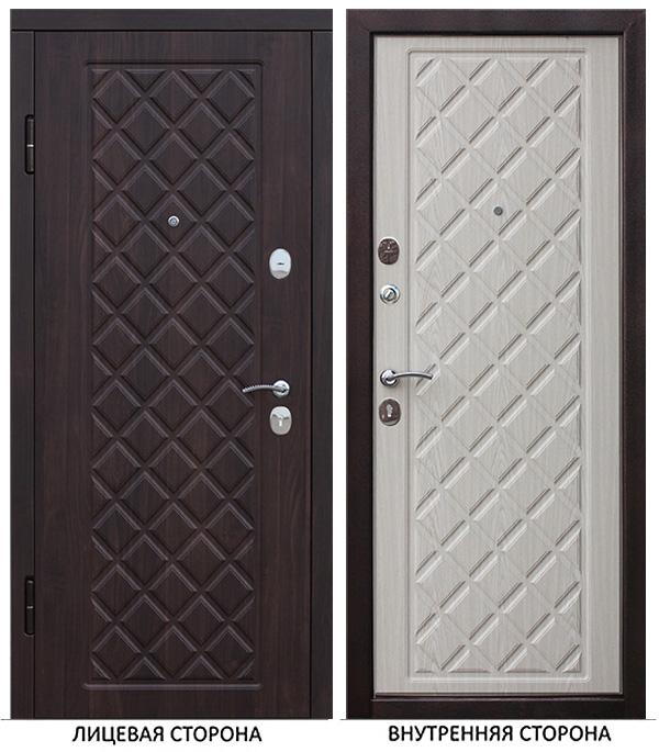 Дверь входная Ferroni Kamelot левая черный муар 860х2050 мм