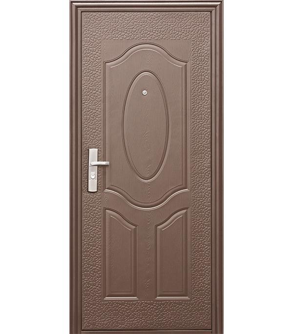 Дверь входная Kaiser Е40М левая коричневый 860х2050 мм