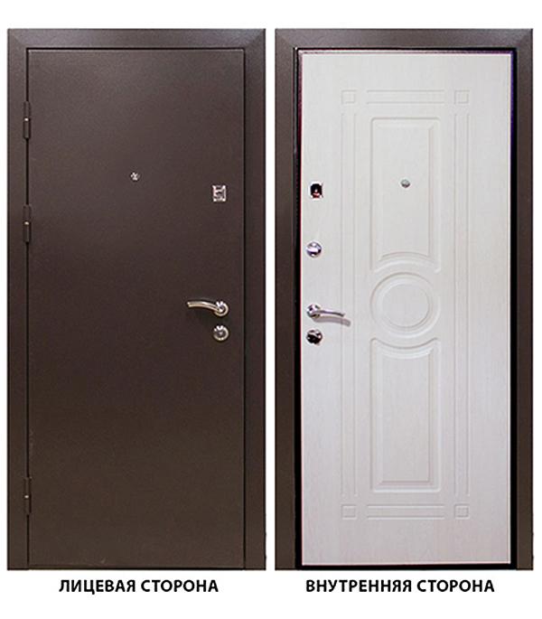 Дверь входная Тоун Тонус 300 левая коричневый 960х2050 мм