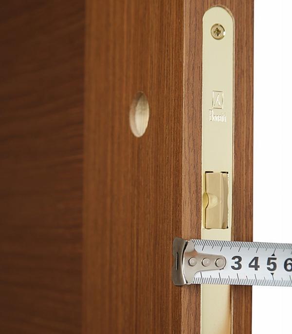 Дверное полотно Mario Rioli Vario орех глухое мдф шпон 600×2000 мм