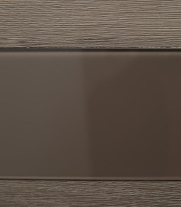 Дверное полотно Verda Турин 05 дуб фремонт вералинга со стеклом мдф экошпон 800×2000 мм