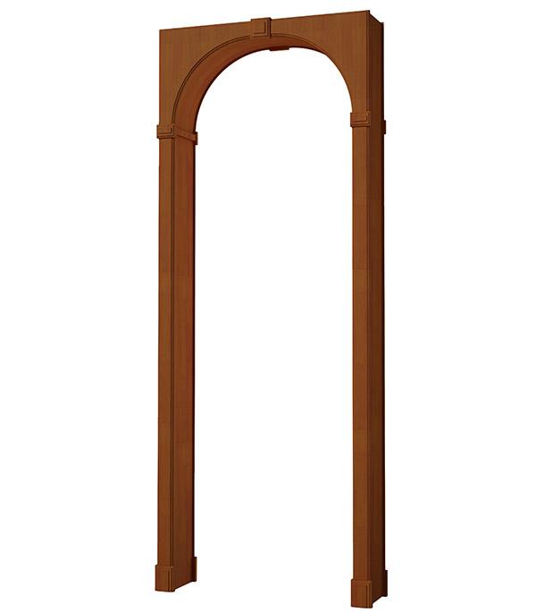 Арка дверная ламинированная Рено малая Итальянский орех 2030x349x54 мм